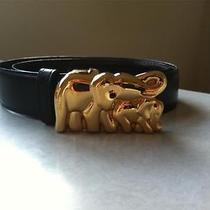 Authentic Cartier Elephant Belt Rare Photo