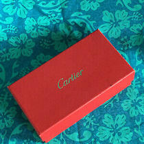 Authentic Cartier Eyglasses Sunglasses Empty Box With Pamphlet Photo