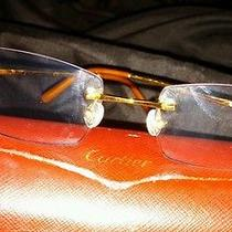 Authentic Cartier Glasses Photo