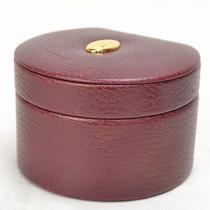 Authentic  Cartier Jewelrybox   Bordeaux Leather 1713 Photo