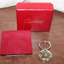 Authentic Cartier Key Chain in Box Photo