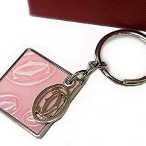 Authentic Cartier Key Holder Ring Chain Happy Birthday 0269 Photo