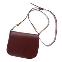 Authentic Cartier Leather  Shoulder Bag   Long Shoulder Photo