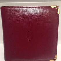 Authentic Cartier Leather Wallet Photo