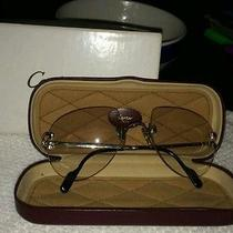 Authentic Cartier Men's  Platinum Glasses Photo