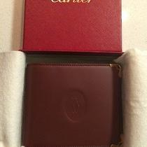Authentic Cartier Mens Wallet Photo