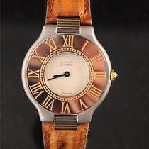 Authentic Cartier Must 21 Ladies/unisex Swiss Quartz Watch Photo