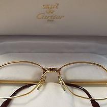 Authentic Cartier Paris Glasses  Photo
