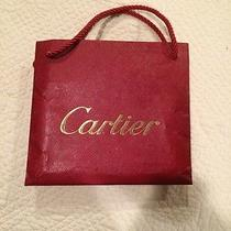 Authentic Cartier Red Gift Bag  Photo