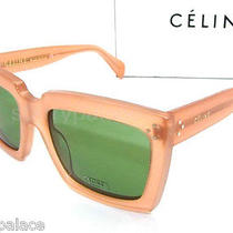 Authentic Celine Antique Rose Sunglass Cl 41800 - N8odj New Photo