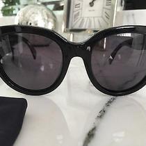 Authentic Celine Audrey Polarized Black Sunglass Cl 41755 - 8073h Like New Photo