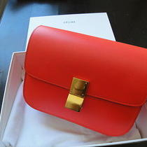Authentic Celine Classic Box Bag Photo