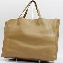 Authentic Celine Horizontal Cabas Tote Bag Camel 166113  Photo