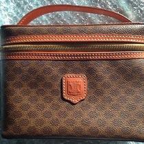 Authentic Celine Macadam Cosmetic Vanity Pouch Bag. 54152. Excellent Cond. Photo