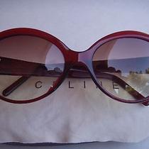 Authentic Celine Sc 1548 col.954 Womens Wine Fashion Sunglasses Photo