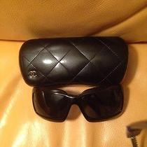 Authentic Chanel 5076-H Mother of Pearl  Black Sunglasses Photo