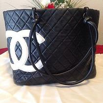 Authentic Chanel Cambon Tote Photo