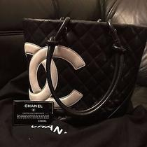 Authentic Chanel Cambon Tote Photo