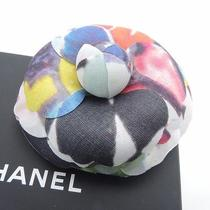 Authentic Chanel Canvas A72465 15 / C Flower Brooch Unused Photo