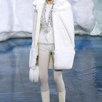 Authentic Chanel Coat. White. Size 36. Nwt. Rare Catwalk Item. Photo