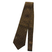 Authentic Chanel  Coco Mark Clover Geometric Pattern Tie Silk Photo
