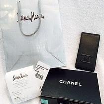 Authentic Chanel Iphone 5/5s/5c Caviar Leather Case Receipt/box Photo