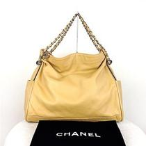 Authentic Chanel Large Camel/beige Ultimate Soft Lambskin Tote Hobo Sac Handbag Photo