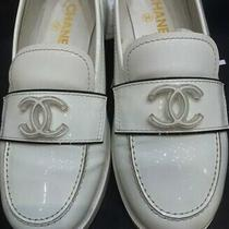 Authentic Chanel Loafers Sneakers Boots Size 38 Eu 8 Us Photo