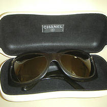 Authentic Chanel Mother of Pearl Brown Sunglasses Photo