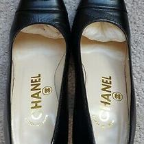 Authentic Chanel Pump Shoes Size 35 Eu / 5.0 Us Photo