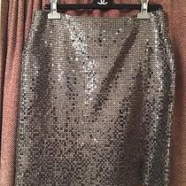 Authentic  Chanel Sequin Skirt Photo