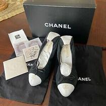 Authentic Chanel Shoes Size 8 Photo