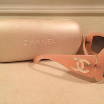Authentic Chanel Sunglasses 5076 H 671/11 Pink Mother of Pearl Limited Edition Photo