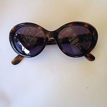 Authentic Chanel Sunglasses Vintage Oval Audrey Hepburn Style Tortaise Shell Photo