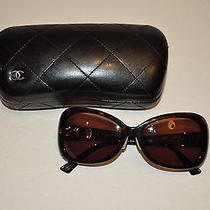 Authentic Chanel Sunglasses With Original Case Photo