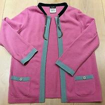Authentic Chanel Women Cardigan Sweater Size 36 Tops Cashmere Bag Shoes Jacket  Photo