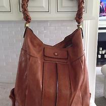 Authentic Chloe Heloise Leather Hobo Cognac in Color Photo