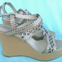 Authentic Chloe Nude Cutout Wedges Size 39.5/9.5 795 Only Nude Pair on Ebay Photo