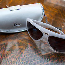 Authentic Christian Dior Aviadior White Mother of Pearl Sunglasses  Photo