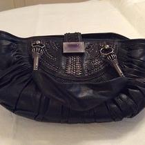 Authentic Christian Dior Black Leather Bag Purse Photo