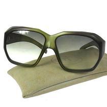 Authentic Christian Dior Logos Sunglasses Eye Wear Green Plastic Vintage M06183 Photo