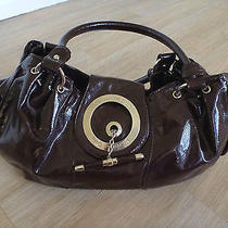 Authentic Christian Dior Paris Women's Brown Handbag Tote Bag Photo