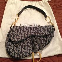 Authentic Christian Dior Saddlebag Photo