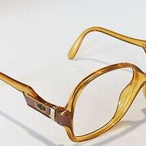 Authentic Christian Dior Sunglasses 2243 10 Light Brown Frame Only 5617 a&s Photo