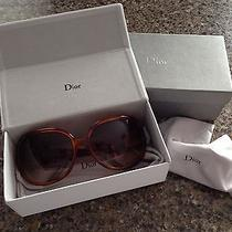 Authentic Christian Dior Sunglasses Tortoise Mother of Pearl Photo