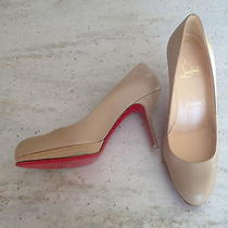 Authentic Christian Louboutin Nude Pumps Never Worn Photo