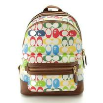 Authentic Coach a Bathing Ape Collaboration Academy Backpack Grade a Used - Md Photo