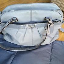 Authentic Coach Addison Diaper Bag - Blue  Photo