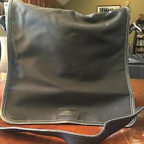 Authentic Coach Black Nylon Messenger Bag/computer Bag  Photo