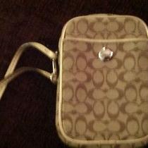 Authentic Coach Camera Bag/card Holder Photo